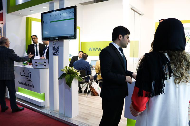 Excida58 3 گزارش حضور گروه فناوری اطلاعات ژنیک در کنگره و نمایشگاه اکسیدا ۵۸