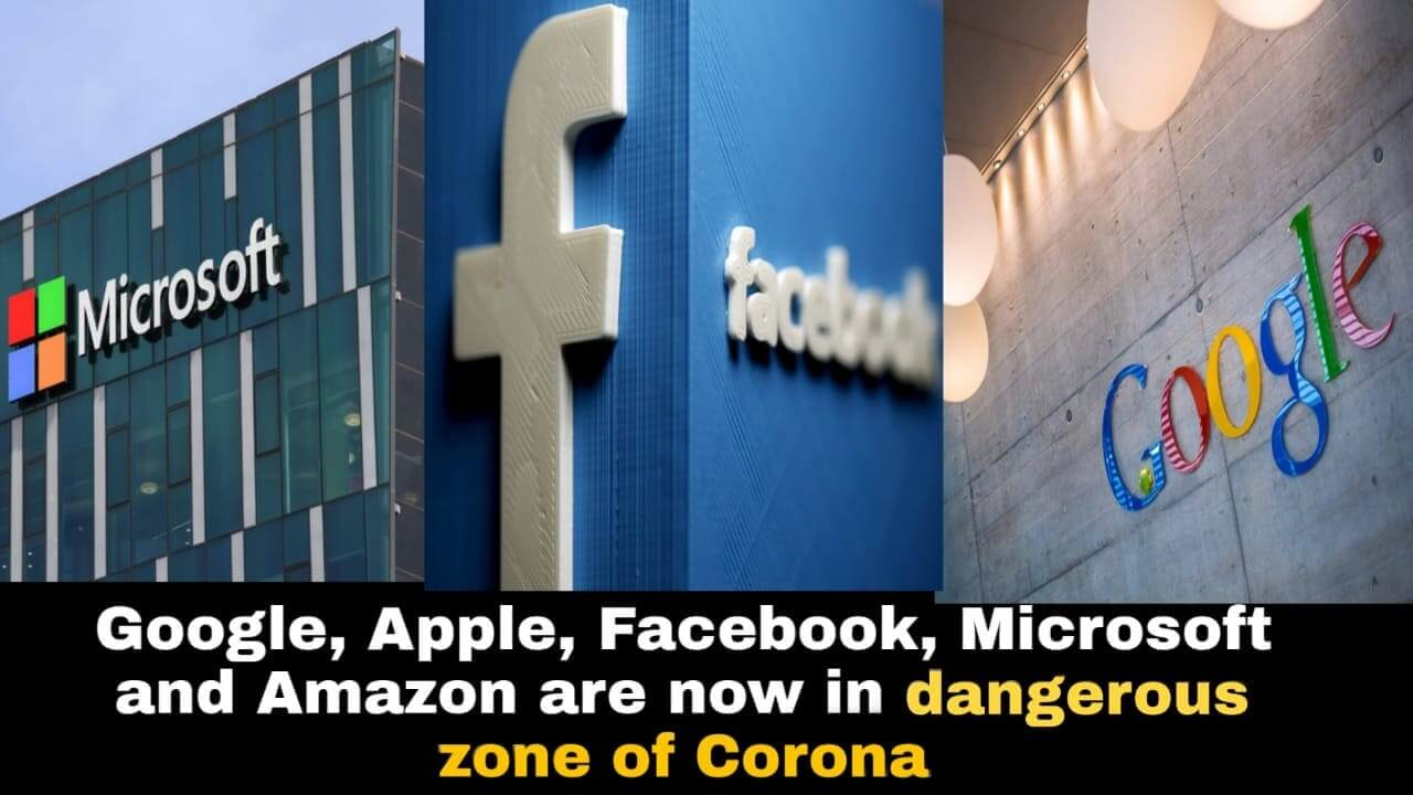 اقدامات شرکت های گوگل فیسبوک توئیتر آمازون و مایکروسافت در مقابل شیوع کرونا